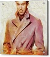 James Stewart, Vintage Hollywood Legend Acrylic Print