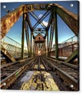 James Street Swing Bridge Acrylic Print