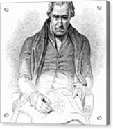 James Watt, Scottish Inventor Acrylic Print