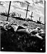 Jamestown Cemetery Acrylic Print