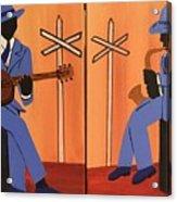 Jammin At The Crossroads Acrylic Print