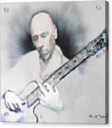 Jamming On Jazz Acrylic Print