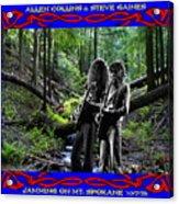 Jamming On Mt. Spokane 1 Acrylic Print