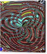 Janca Abstract Ovoid Panel 9646w9a Acrylic Print