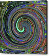 Janca Abstract Panel #5473w4 Acrylic Print