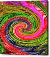 Janca Colors Panel Abstract # 5212 Wtw7abc Acrylic Print