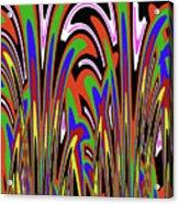 Jancart Drawing Abstract #8455wspc Acrylic Print