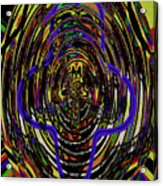Jancart Drawing Glass 8455dwtpcg Acrylic Print