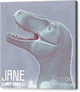 Jane Is A Fossil Specimen Of Small Acrylic Print