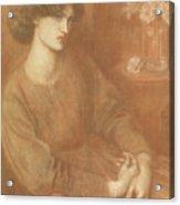 Jane Morris Acrylic Print
