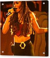 Janet Jackson 94-2994 Acrylic Print