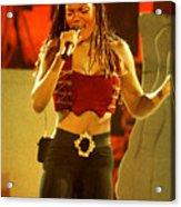 Janet Jackson 94-3000 Acrylic Print