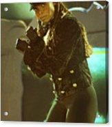 Janet Jackson 94-3022 Acrylic Print