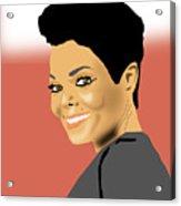 Janet Jackson Acrylic Print