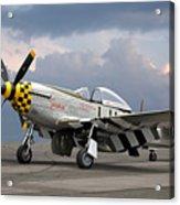 Janie P-51 Acrylic Print