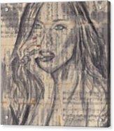 Janine Acrylic Print
