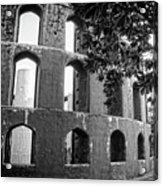 Jantar Mantar - Monochrome Acrylic Print