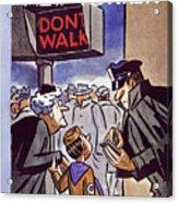 January 24 1959 Acrylic Print