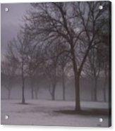 January Fog 4 Acrylic Print