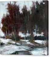January Thaw Acrylic Print