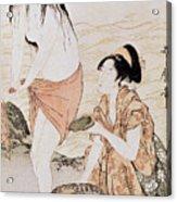 Japan: Abalone Divers Acrylic Print