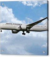 Japan Airlines Boeing 787 Dreamliner Acrylic Print