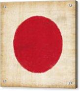 Japan Flag Acrylic Print