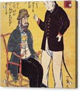 Japan: French Trade, 1861 Acrylic Print