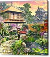 Japan Garden Variant 2 Acrylic Print