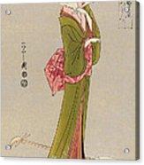 Japan: Geisha, C1794 Acrylic Print