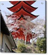 Japan Itsukushima Temple Acrylic Print