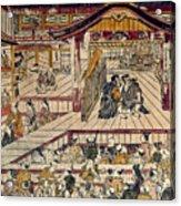 Japan: Kabuki Theater Acrylic Print