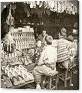 Japan: Shoe Store, C1910 Acrylic Print