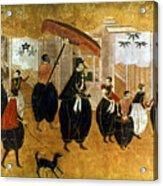 Japan: St. Francis Xavier Acrylic Print by Granger