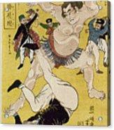 Japan: Sumo Wrestling Acrylic Print