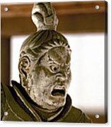 Japan: Warrior Statue Acrylic Print