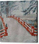 Japanese Bridge Acrylic Print