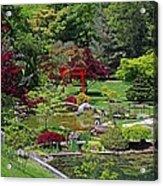 Japanese Garden II Acrylic Print