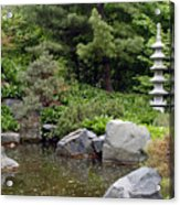 Japanese Garden Iv Acrylic Print