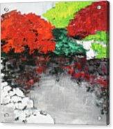 Japanese Garden Norfolk Botanical Garden 201818 Acrylic Print