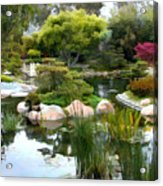Japanese Garden Panorama 2 Acrylic Print