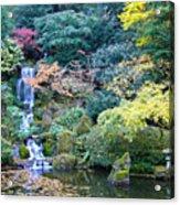 Zen Japanese Garden Acrylic Print