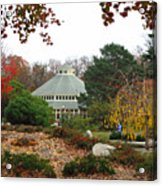 Japanese Garden Roger Williams Park Acrylic Print