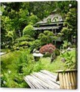 Japanese Garden Teahouse Acrylic Print