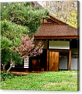 Japanese House Acrylic Print