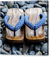 Japanese Sandals Acrylic Print