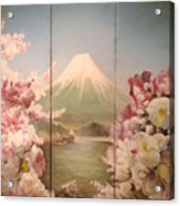 Japanese Spring Acrylic Print