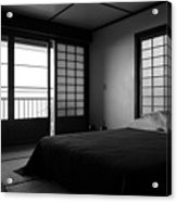 Japanese Style Room At Manago Hotel Acrylic Print
