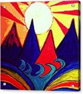 Japanese Sunrise Acrylic Print
