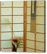 Japanese Tea House Acrylic Print
